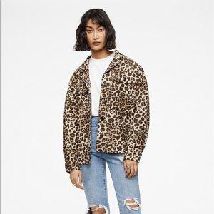 ANINE BING Leopard Flynn Jacket
